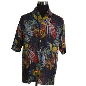 Tommy Bahama Mens Shirt Sz XL Multicolored Floral